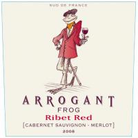 Arrogant Frog Ribet red cabernet-merlot