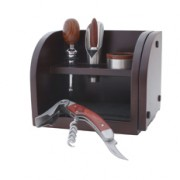 Set sommelier bois kit bar