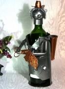 Porte bouteille vendangeur